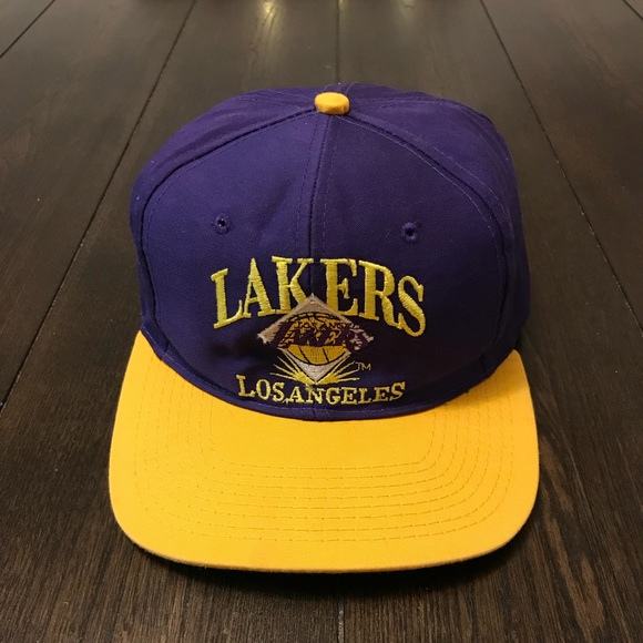 604e241c6e4 Vintage Los Angeles Lakers SnapBack Hat. M 5c133f4f3c984415613a2eb4. Other  Accessories ...